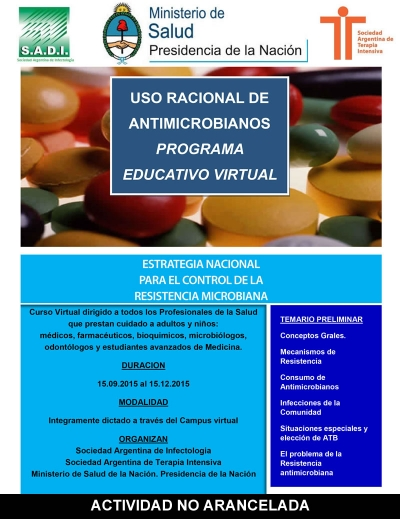 Uso Racional de Antimicrobianos Programa Educativo Virtual
