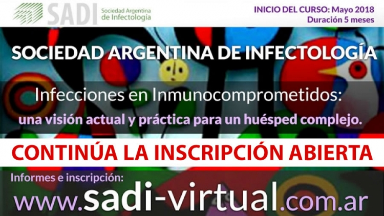 Curso virtual Inmunocomprometidos