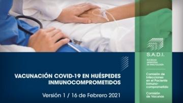 Vacunación Covid-19 en huéspedes inmunocomprometidos