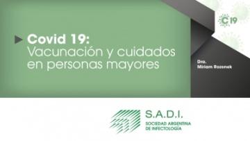 Webinar: COVID-19: vacunación y cuidados en personas mayores