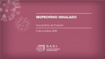Ibuprofeno Inhalado