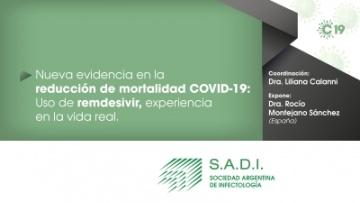 Nueva evidencia en la reducción de la mortalidad COVID-19: Uso de remdesivir, experiencia en la vida real.