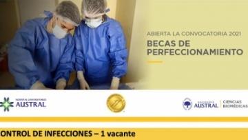 Beca de perfeccionamiento - control de infecciones