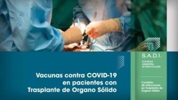 Vacunas contra COVID-19 en pacientes con Trasplante de Organo Sólido