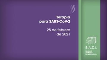 Terapia para SARS-CoV-2