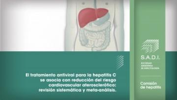 El tratamiento antiviral para la hepatitis C se asocia con reducción del riesgo cardiovascular aterosclerótico: revisión sistemática y meta-análisis