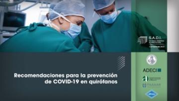 Recomendaciones para la prevención de COVID-19 en quirófano